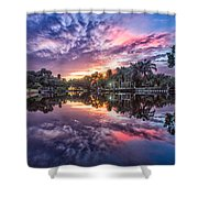 After The Flood Shower Curtain