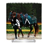 After The Joust Shower Curtain