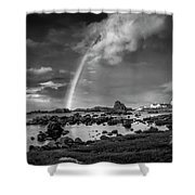 After The Rain Ballintoy Shower Curtain