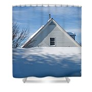 After The Snowfall Shower Curtain