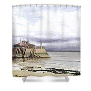 After The Storm Shower Curtain by Martin Howard
