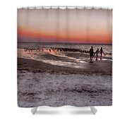 After The Sunset Shower Curtain