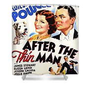 After The Thin Man 1935 Shower Curtain