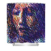 After Vermeer - Clio Shower Curtain