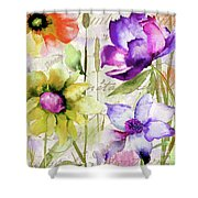 Afterglow II Shower Curtain