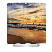 Afternoon At The Beach Shower Curtain