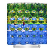 Afternoon Cruise Shower Curtain