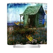 Afternoon Deluge Shower Curtain
