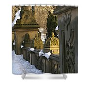 Afternoon In Central Park Shower Curtain