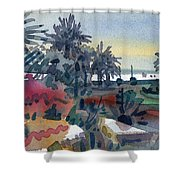 Afternoon In The Keys Shower Curtain