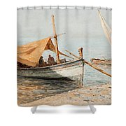 Afternoon In Toulon Shower Curtain