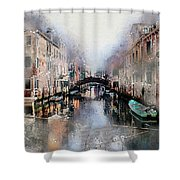 Afternoon In Venice IIi Shower Curtain