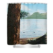Afternoon Invitation Shower Curtain