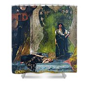 Afternoon Langour Shower Curtain