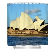 Afternoon Light On The Sydney Opera House Shower Curtain