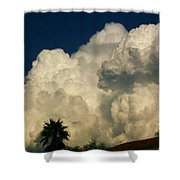 Afternoon Monsoon Shower Curtain