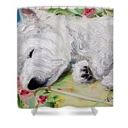 Afternoon Nap Shower Curtain