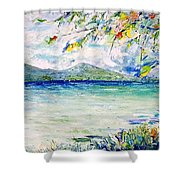 Afternoon Sail Shower Curtain