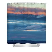 Afternoon Sandwich Shower Curtain