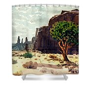 Afternoon View Shower Curtain