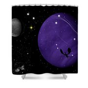 Again They Rise Shower Curtain