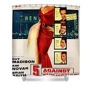 Against The House Film Noir  Shower Curtain