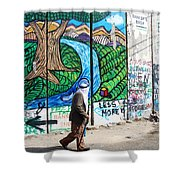 Against The Norm Shower Curtain