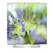 Agapanthus Perfection Shower Curtain
