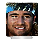 Agassi Shower Curtain