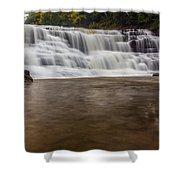 Agate Falls Shower Curtain