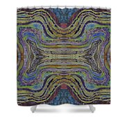 Agate Inspiration - 24c  Shower Curtain