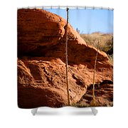 Agave Pals Shower Curtain