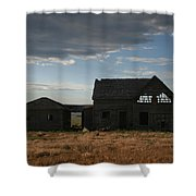 Age Before Beauty Shower Curtain