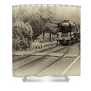 Age Of Steam Shower Curtain