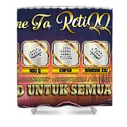 Agen Poker Shower Curtain