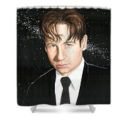 Agent Mulder Shower Curtain