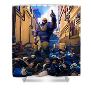 Agents Of Mayhem Shower Curtain
