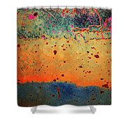 Aging In Colour Shower Curtain