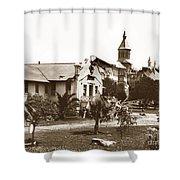 Agnews State Hospital San Jose Calif. 1906 Shower Curtain