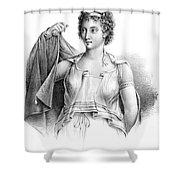 Agnodice, Ancient Greek Physician, 4th Shower Curtain
