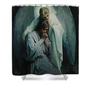 Agony In The Garden, 1898 Shower Curtain