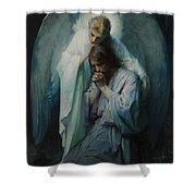 Agony In The Garden By Frans Schwartz, 1898 3 Shower Curtain