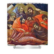 Agony In The Garden Fragment 1311 Shower Curtain