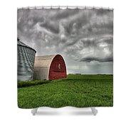 Agriculture Storage Bins Granaries Shower Curtain