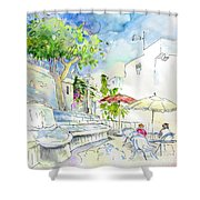 Agua Amarga 10 Shower Curtain