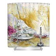 Agua Amarga 13 Shower Curtain