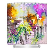 Agua Amarga Fantasy 01 Shower Curtain