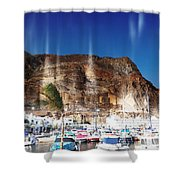 Aguadulce Port Shower Curtain