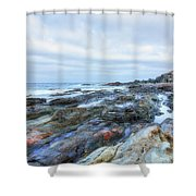 Aguas Verdes - Fuerteventura Shower Curtain