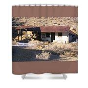 Aguereberry Camp - Death Valley Shower Curtain